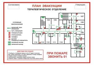 заказать изготовление планов эвакуации